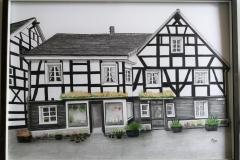 Fachwerkhaus-Blumenladen