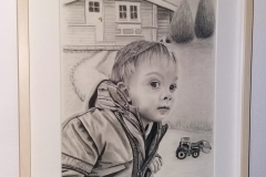 Portrait mit Rahmen